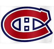 Canadiens Logo Poster