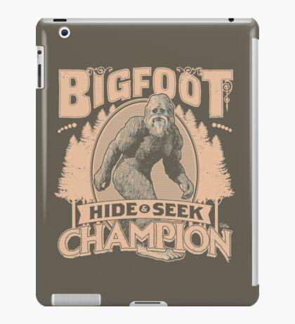 Bigfoot - Hide & Seek Champion iPad Case/Skin