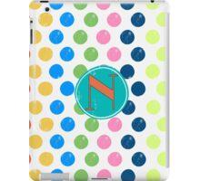 Polka Dot N iPad Case/Skin