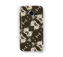 Punk Girl Kaleidoscope Pattern  Samsung Galaxy Case/Skin