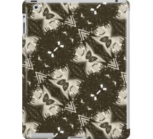 Punk Girl Kaleidoscope Pattern  iPad Case/Skin