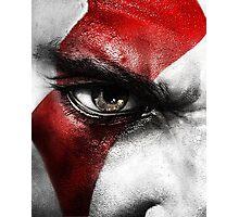 God of War Kratos Photographic Print