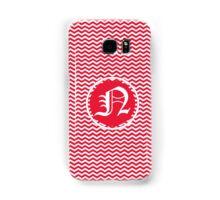 Red N Chevron Samsung Galaxy Case/Skin