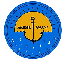 ANCHORS AWAY Photographic Print