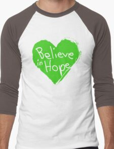 Believe In Hope Men's Baseball ¾ T-Shirt