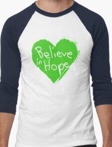 Believe In Hope Men's Baseball ¾ T-Shirt