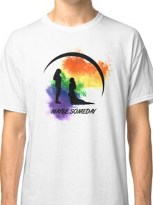 Clexa - Maybe Someday In Color Classic T-Shirt