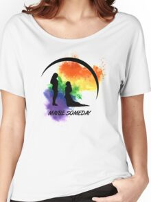 Clexa - Maybe Someday In Color Women's Relaxed Fit T-Shirt