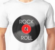 Rock and Roll Record Unisex T-Shirt