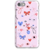 Eyes and Bows iPhone Case/Skin