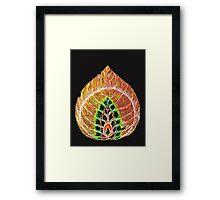Leafddartha Framed Print
