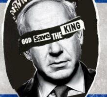Bibi God Save the King, Israel Sticker