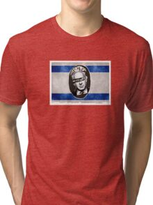 Bibi God Save the King, Israel Tri-blend T-Shirt