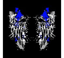 Ink Splatter Wings Photographic Print
