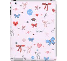 Simple Bows & Eyes iPad Case/Skin