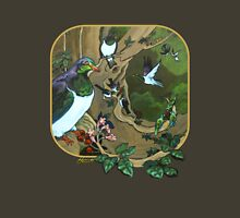 Pigeons, Parakeets and Fantails Unisex T-Shirt