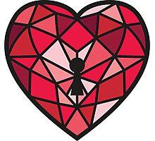 Jewel Heart Photographic Print
