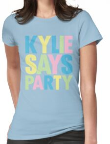 Kylie Minogue - Kylie Says Party Womens Fitted T-Shirt