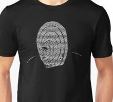 Obito Grunge The Letters Unisex T-Shirt