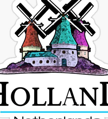 Holland, The Netherlands Sticker