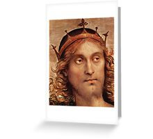 The Almighty Christ Greeting Card