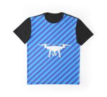 DJI Phantom 4 Streifen Edition  Graphic T-Shirt