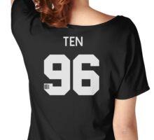 Ten NCT u Member Jersey Number Women's Relaxed Fit T-Shirt