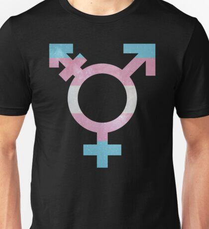 Trans Symbol Galaxy Unisex T-Shirt