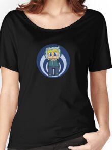 Cute Snowy Minecraft Boy Women's Relaxed Fit T-Shirt