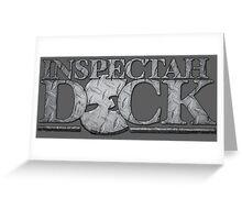 Inspectah Deck Wu Tang Greeting Card