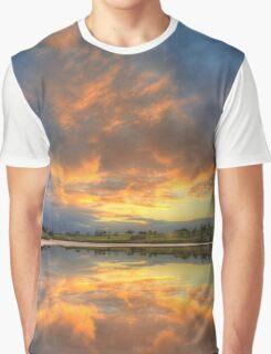 Lake Crosbie, Murray-Sunset NP Graphic T-Shirt