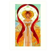 Tarot: The Sun Art Print