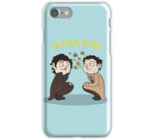 Watching The Bees. iPhone Case/Skin