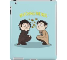 Watching The Bees. iPad Case/Skin