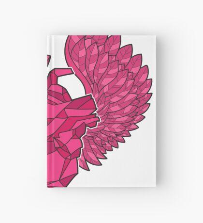 Origami Heart Hardcover Journal