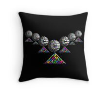 """The Elementary Chebyshev Necklace""© Throw Pillow"