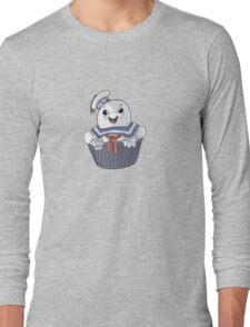 Stay Puft Cupcake Long Sleeve T-Shirt
