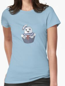 Stay Puft Cupcake Womens Fitted T-Shirt