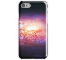 Spiral Galaxy, space, astronomy, colorful iPhone Case/Skin