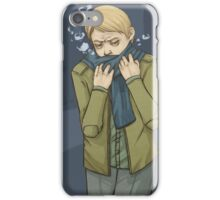 I Stole Your Scarf iPhone Case/Skin