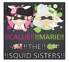Squid Sisters Poster (English) Photographic Print