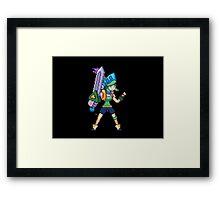 Arcade Riven Framed Print