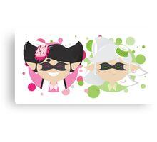 Callie and Marie Minimalist Canvas Print