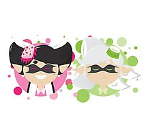 Callie and Marie Minimalist Photographic Print