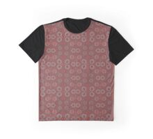 """Find the rabbit"" abstract pattern, pastel, grey and terracotta, earth tones Graphic T-Shirt"