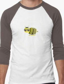 Bee Cool - Punny Farm - Light Men's Baseball ¾ T-Shirt