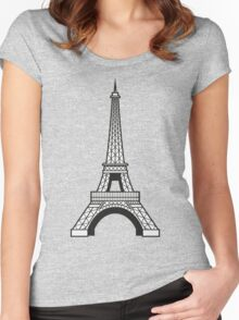 Eiffel Women's Fitted Scoop T-Shirt