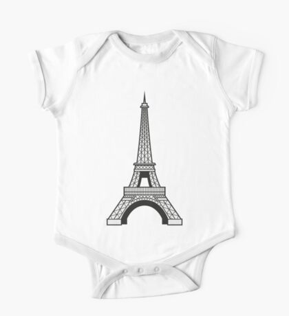 Eiffel One Piece - Short Sleeve