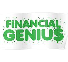 Financial genius $ Poster