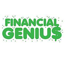 Financial genius $ Photographic Print